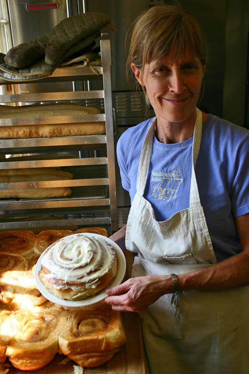 Nancy's homemade cinnamon rolls
